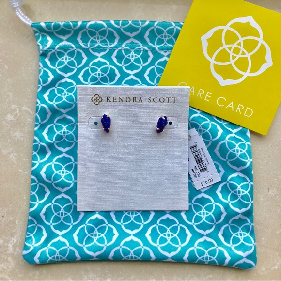 5d31f5ce0 Kendra Scott Jewelry | Jillian Purple Kyocera Opal Earrings | Poshmark
